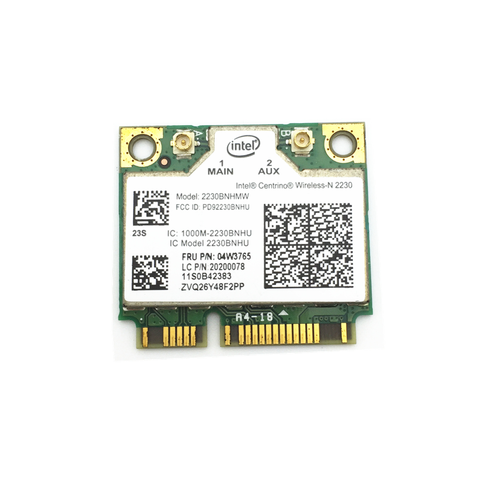 For Lenovo  Y400 Y500 Centrino Wireless-N Intel 2230 Wireless Bluetooth 4.0 Wifi N 300M Mini Pcie Card 04w3765