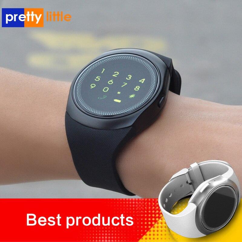 Smart watch homens android com tela de toque p20 Disque Chamada do cartão sim relogio smartwatch relógio com whatsapp Facebook rastreador de fitness