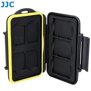 Image 3 - JJC Camera DSLR Thẻ Nhớ Chống Nước SD Thẻ XQD Hộp Bảo Quản Cho Canon EOS M10 1300D Nikon D5300 sony A5000 A5100 A6000