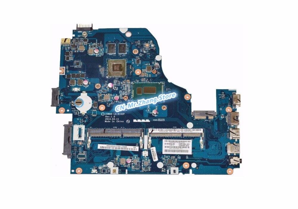 SHELI FOR font b Acer b font Aspire E1 572 Laptop Motherboard W I7 4510U CPU