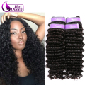 Brazillian Deep Wave Curly Hair Sexy Formula Hai Brazilian 100 Virgin Human Hair Sew In Extensions Weft 4 Bundles Deal Ocean
