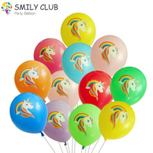 12inch 2.8g 100pcs/lots Unicorn Print Balloons in a Variety of Colors Birthday Party Decor Animal Baby Gift Classic Toy Balloon