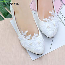 Sorbern Party Shoes Women Pointed Shoes Low Heel Dress Shoes Autumn Spring  Block Heels Wedding Shoes 314180214ed2