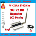 Cellphone 3g Repeater Signal Amplifier, LCD Display WCDMA 2100Mhz Signal Repeater 3G, High Quliay 3g Repeater Amplifier YAGI 3G