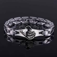 Fairy Tail Silver Alloy bracelet