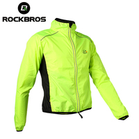 ROCKBROS Cycling Men S Riding Breathable Reflective Jersey Cycle Clothing Long Sleeve Windproof Quick Dry Coat