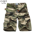 New Camouflage Cargo Shorts Men Military Cam Multi Pockets Overalls Casual Straight Bermudas Masculina De Marca Mens Clothing