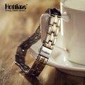 Hottime 3 en 1 elementos bio energía titanium metal de la manera del deporte de la salud de turmalina magnética del encanto pulseras brazaletes 2016
