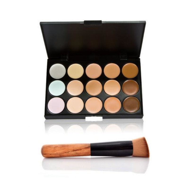 1 PCS Professional Concealer Palette 15 Colors Makeup Party Contour Palette Beauty Face Cream and Makeup