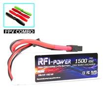 1500mAh 11.1V 65C(Max 130C) 3S Lipo Battery
