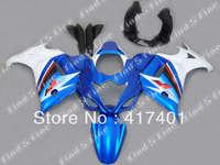 high quality blue white black for GSX650F 08 09 10 GSX 650F 08 10 GSXR650 2008 2010 2008 2009 2010 ABS fairing kit