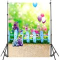 Photographic background Balloon woods grass blur backdrops newborn kids photo photocall  Diy 3x5FT