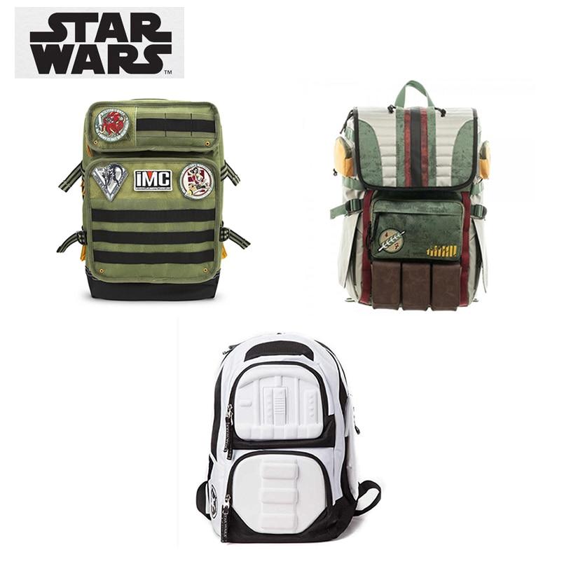 Star Wars Boba Fett Laptop Backpack great quality same men backpack large capacity travel bag fashion Double Shoulder Bag