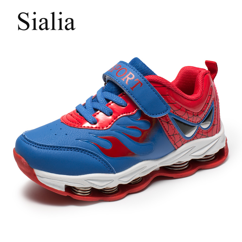 Sialia Spring Autumn Children Sneakers For Kids Shoes Boys Casual Shoes Sneakers Sport School Outdoor 2018 tenis infantil meninoSialia Spring Autumn Children Sneakers For Kids Shoes Boys Casual Shoes Sneakers Sport School Outdoor 2018 tenis infantil menino