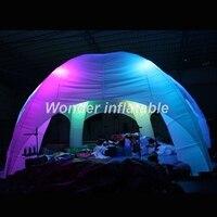Освещение надувные паук палатка белый свет inflatble для рекламы/Выставка/рекламные/торговли/газон 8 м