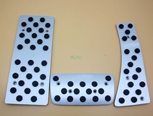 For Honda CIVIC 2006 2007 2008 2009 2010 2011Manual AT Auto Aluminum Pads Pedal Set Gas Brake Footrest Car Accessories with logo