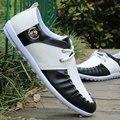 Plana Con Patchwork Mens Zapatos de Zapatos Casuales Hombres Zapatos Casuales de Primavera/otoño