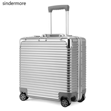 sindermore 18 Multiwheel TSA combination lock Notebook bag business cabin suitcase travel trolley case hardside rolling