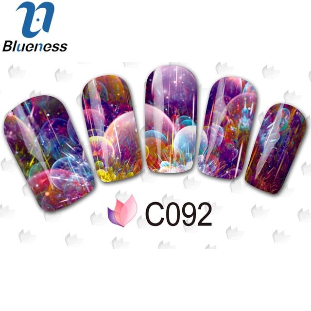 Blueness 1Pcs Stick For Nails Deep Sea Series Nail Art Sticks ...