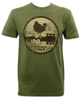 Top Quality T Shirts Men O Neck Authentic Bird On Guitar 1969 Slim Fit T Shirt