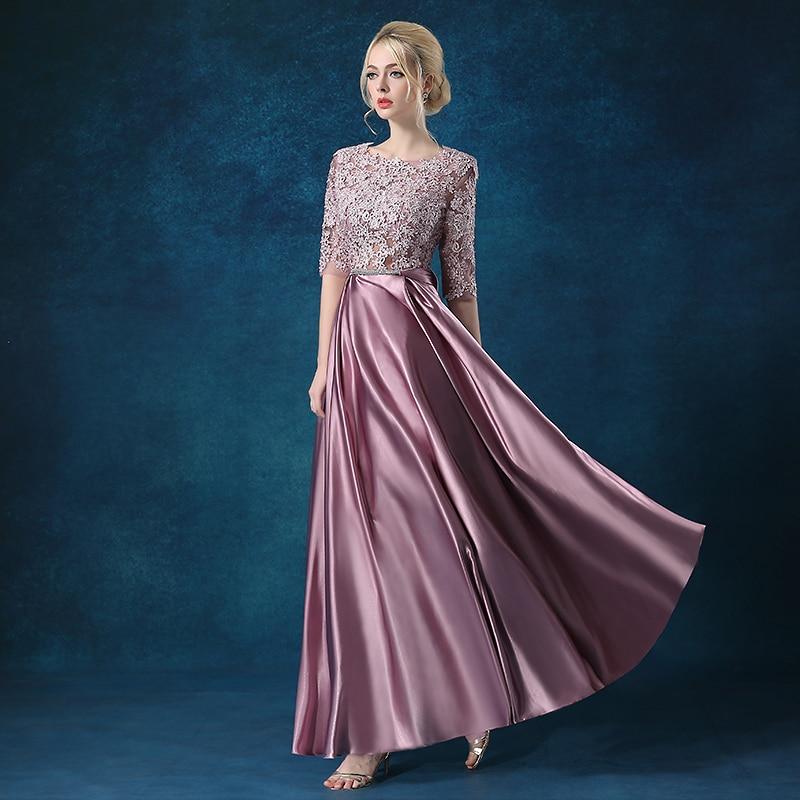 Vestido de madrinha de casamento longo new lace sleeve a Line gift shawl 2  piece blush Ivory bridesmaid dresses elegant-in Bridesmaid Dresses from  Weddings ... 35b7999dd142