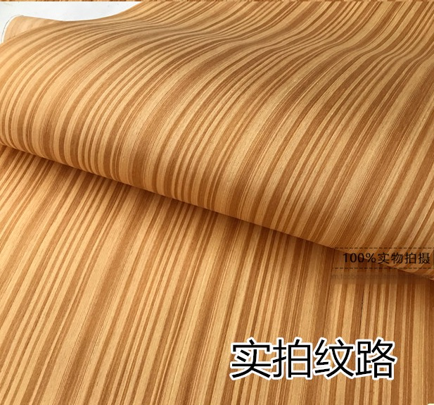 2pieces/lot L:2.5meters Wide:62cm Thickness:0.2mm Technology Teak Wood Veneer Furniture Accessories