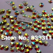 Круглый 12 мм смола 200 шт. пришить свободные шарики Золотисто-Желтый AB Цвет Стразы syxj-4-12 аксессуары для швейных Stones бисер Diy