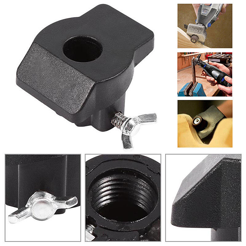 Hot Sale Sanding Grinding Guide Attachment Rotary Tool Accessories For Dremel Hilda Mini Drill For Woodworking DIY