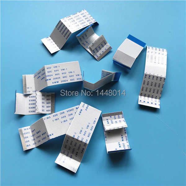 50 set grosir FFC kabel data printhead untuk Epson T1100 printer T1110 B1100 ME-1100 T1100 L1300 datar kepala kabel tahan lama