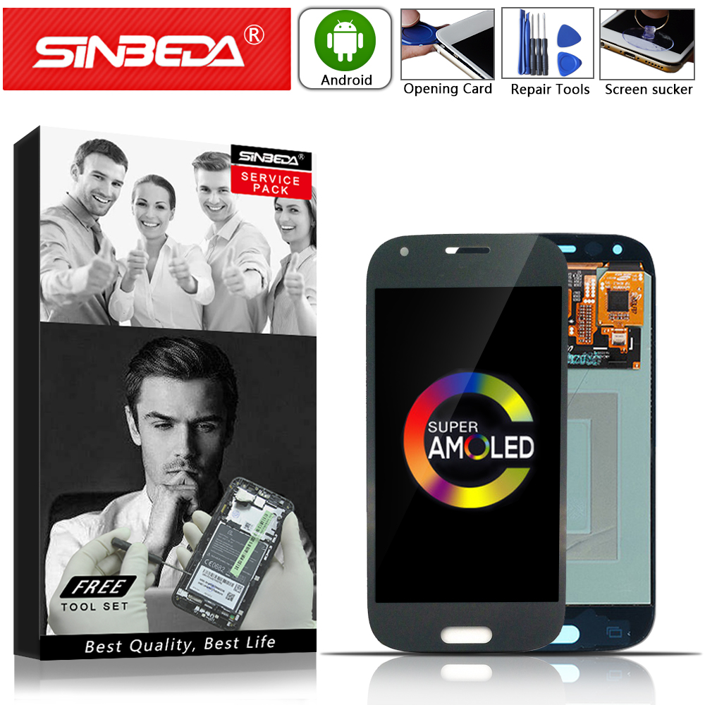 4.3Sinbeda AMOLED For SAMSUNG Galaxy Ace 4 LCD Display Touch Screen Digitizer For SAMSUNG G357 LCD G357F G357FZ G357 Display @