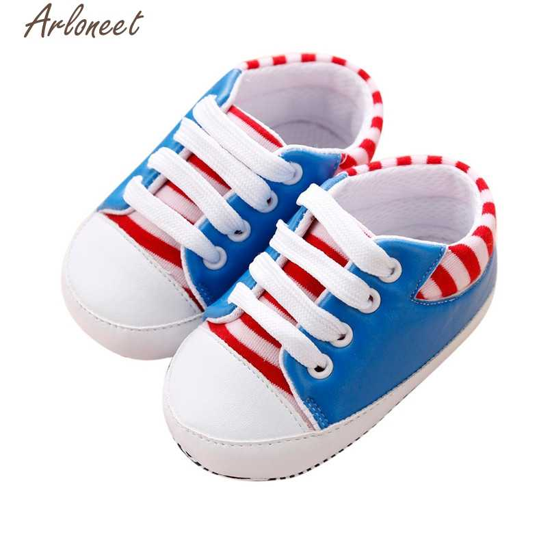 4 colores moda primeros caminantes zapatos de bebé 2018 Hot Lovely Sneakers Bandage Shoes Patch drop shipped ST20