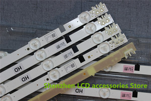 Image 3 - 5pieces/lot  New UA32F4088AR CY HF320AGEV3H UE32F5000 UA32F4000AR LED strip D2GE 320SC0 R3 2013SVS32H 9 LEDs 650mm