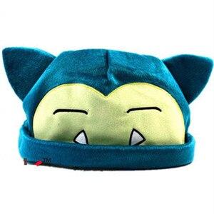 Do sprzedaży detalicznej zabawki pluszowe lalki miękkie Snorlax kapelusz czapka dorosłych 30*21 cm