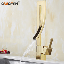 цены Basin Faucets Hot and Cold Water Bathroom Sink Tap Pull Out Swivel Single Handle Sink Faucet Brass Wash Basin Mixer Tap N22-075