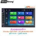 SilverStrong ips Android 8,1-9,0 4G Автомобильный DVD 2din универсальный Автомобильный GPS Радио увеличитель магнитофон навигационный вариант DSP 8,1 + 16G 707