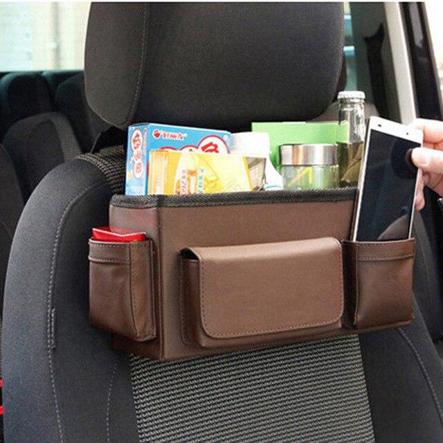 Auto Car Back Seat Organizer Multi Pockets Storage Bag Car Seat