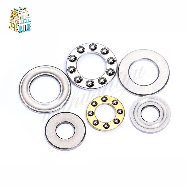 Sets of 7 Size Flat Thrust Ball Bearing ID 2.5//3//4//6//7//8mm Mini Miniature Bearings F2.5-6M .F3-8M .F4-10M F5-10M F8-14M F7-13M F6-12M