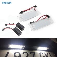 2 шт. Canbus Автомобильный светодиодный номерной знак лампы для Fiat Grande Punto Marea Multipla Seicento