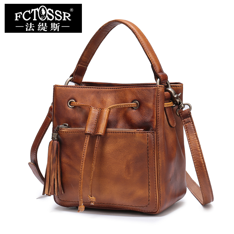 Top-Handle Bags 2018 Latest Women Handbags Shell Shoulder Bag Handmade First Layer Leather Messenger Crossbody Bags 2017 new female genuine leather handbags first layer of cowhide fashion simple women shoulder messenger bags bucket bags