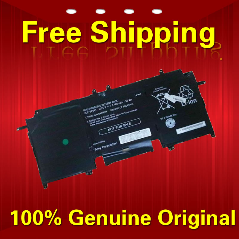 ФОТО Free shipping VGP-BPS41 BPS41 Original laptop Battery For SONY VAIO Fit 13A PC Tablet 11.25V 3140MAH