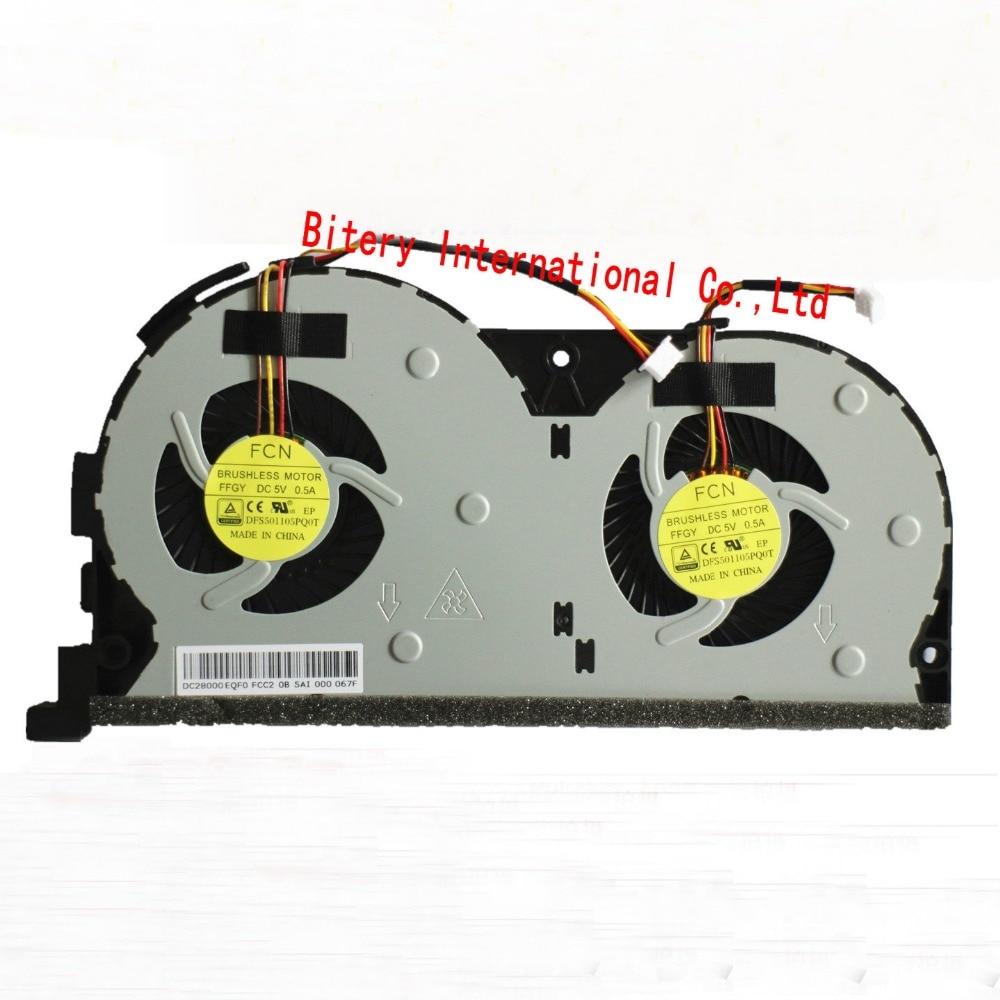 Laptop CPU Cooling fan for Lenovo Erazer Y50 Y50-70 Y50-70AM Y50-70AS Fan EG60070S1-C060-S99