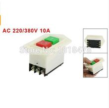 цена на LC3-10 AC 220/380V 10A I/O Start Stop Self-Locking Push Button Switch