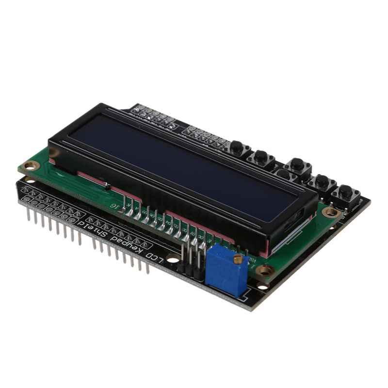 Clavier écran panneau rétro-éclairage bleu pour Arduino Robot LCD 1602 1280 2560