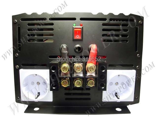 6000W DC 12V to AC 230V Pure Sine Power Inverter 6kw