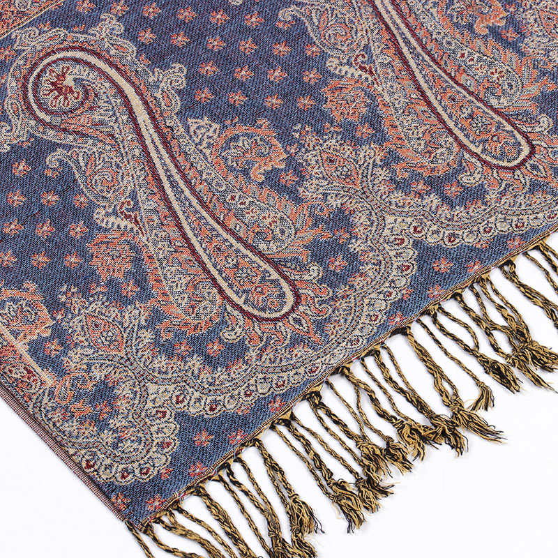 0 23kg YILIAN Brand Print Paisley Retro Persian Pattern Shawl Women Autumn and Winter Fashion Cotton Scarf for Lady LL002 in Women 39 s Scarves from Apparel Accessories
