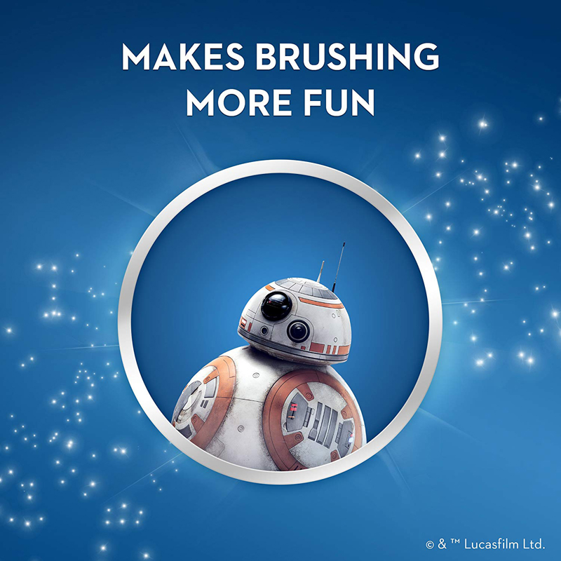 Image 5 - OralB Electric Toothbrush for Children Gum Care Rotation Vitality Cartoon Oral Health Soft Tooth Brush for Kids Battery Powered-in Electric Toothbrushes from Home Appliances