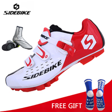 цены SIDEBIKE Cycling Shoes Mountain Bicycle bike Racing shoes Self-Locking bike sapatilha mtb Shoes zapatillas ciclismo unsex