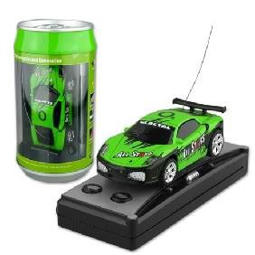 Venda quente Mini Carro RC Coque Pode RTG Radio Remote Control Micro RC Racing Ca