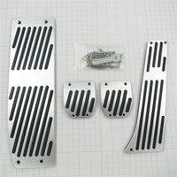 Accesorio para BMW X1 3 5-sery e36 e34 e32 e30 e38 e39 e46 e87 E90 e91 e92 x5 x3 Z3 AT/MT gas resto del pie modificar pedal pad Adhesivos
