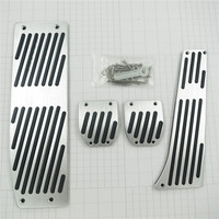 Accessory For BMW X1 3 5 Sery E30 E32 E34 E36 E38 E39 E46 E87 E90 E91 E92 X5 X3 Z3 AT/MT Gas Foot Rest Modify Pedal Pad Stickers